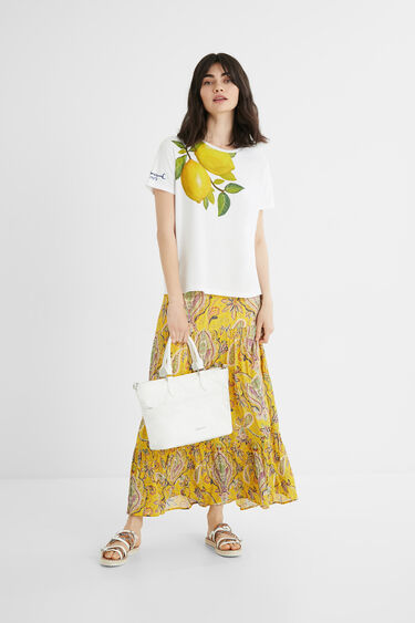 Lemons T-shirt 100% cotton | Desigual
