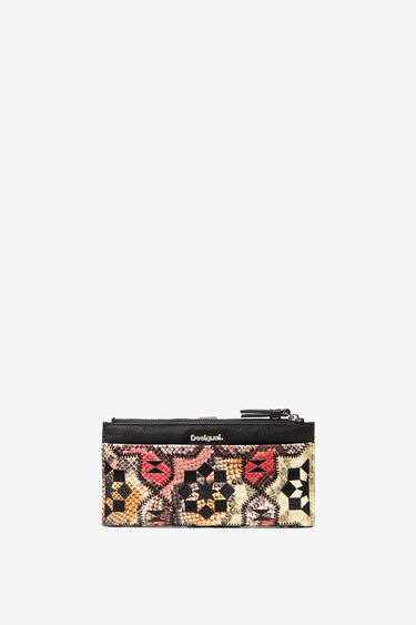 Rectangular coin purse reptile | Desigual