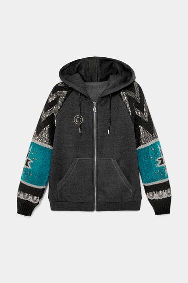 Ethnic hybrid jacket | Desigual