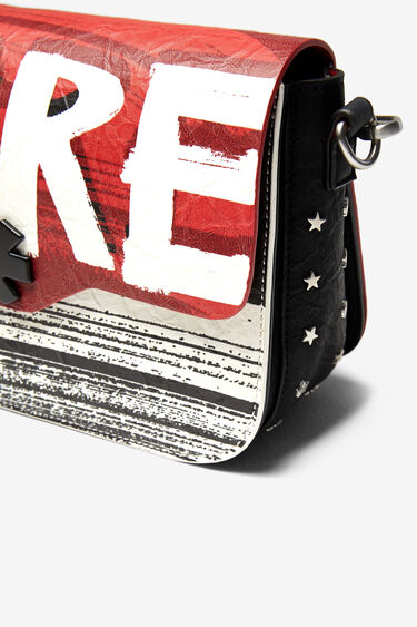 """More"" rectangular bag | Desigual"