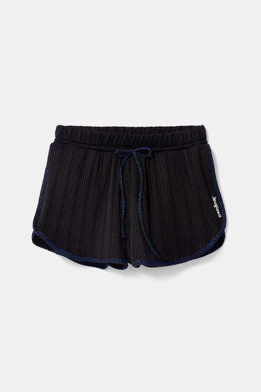 Short trousers striped structure | Desigual