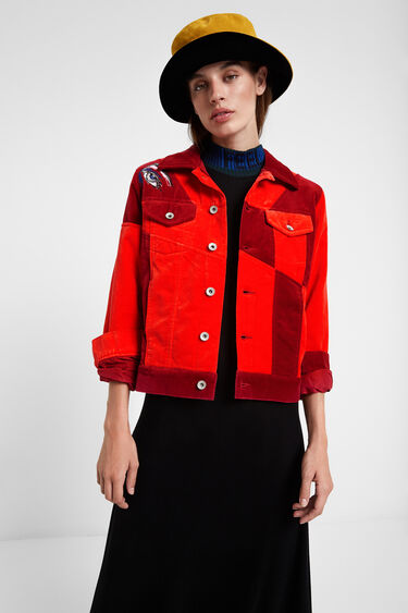 Young talents red jacket | Desigual