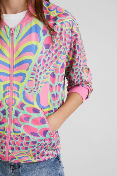 Sweatshirt jacket snake | Desigual