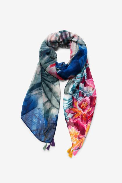 Fulard hawaià floral