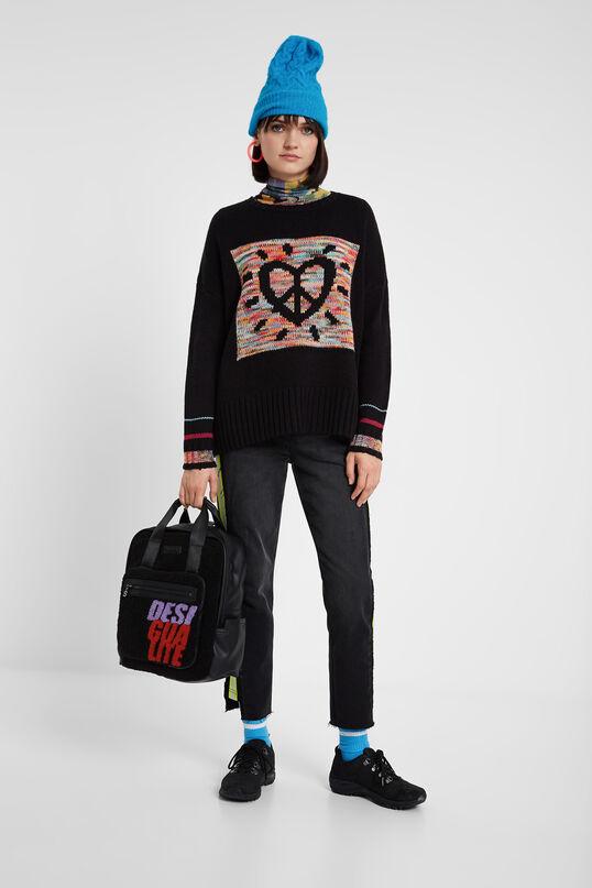 Knitted jumper heart | Desigual