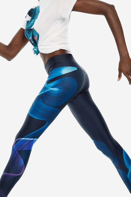 Leggings print posicional arty   Desigual