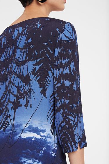 Robe t-shirt paysage oriental | Desigual