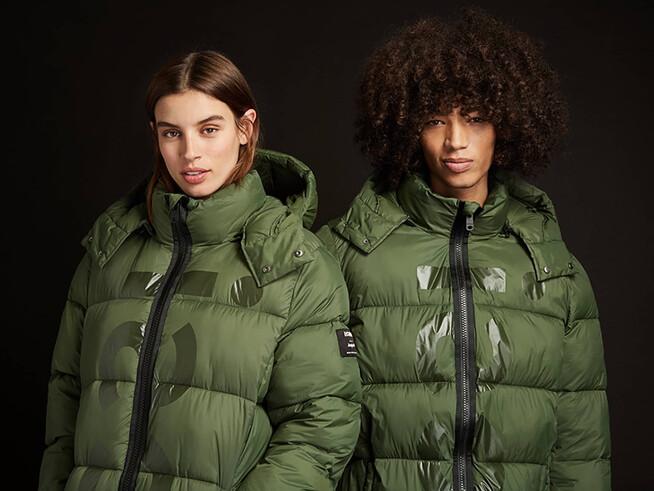 Ecoalf long padded jacket