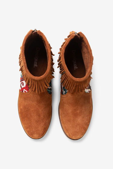 Navajo flat boot | Desigual