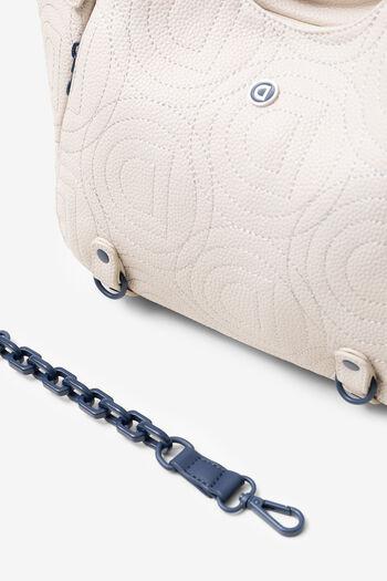 Big bag in logomania patch | Desigual