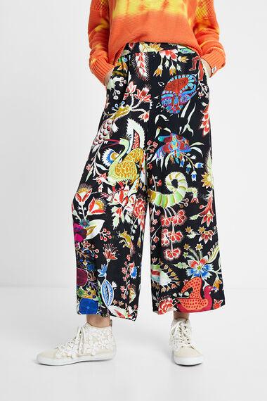 Calças culotte fantasia