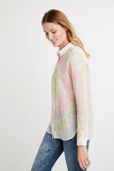 Ethnic brushstrokes shirt | Desigual