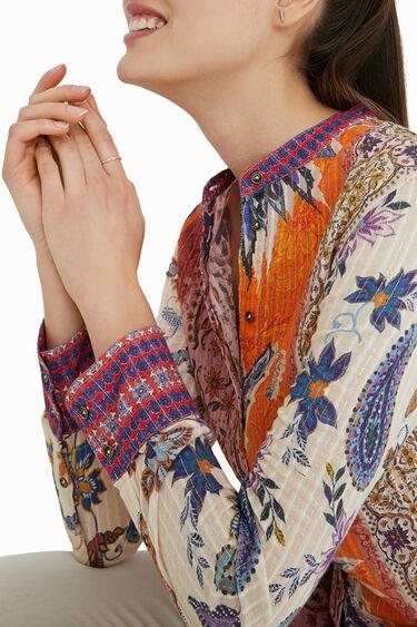 Boho blouse met paisleyprint | Desigual