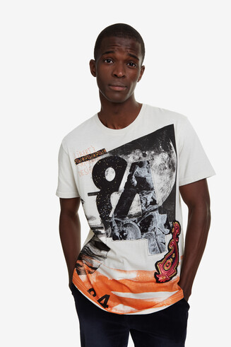 100% cotton digital print T-shirt