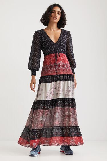 Long boho dress | Desigual