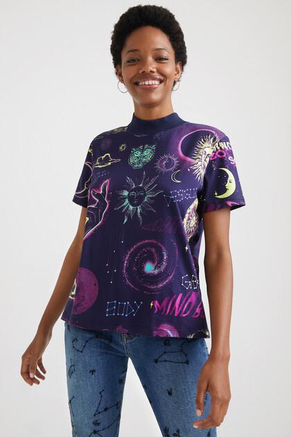 Camiseta astrología 100% algodón