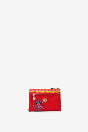 Coin purse embroidered mandalas | Desigual