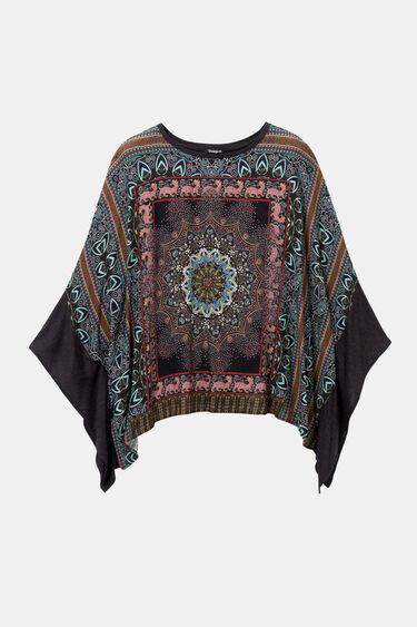 T-shirt poncho hindou | Desigual