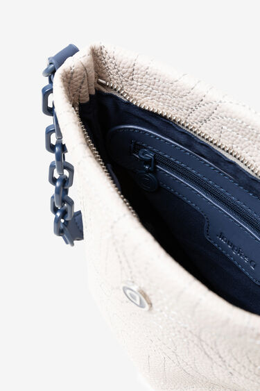 Sling bag in logomania patch | Desigual