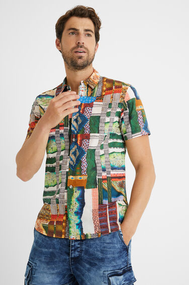 Shirt friezes 100% cotton | Desigual