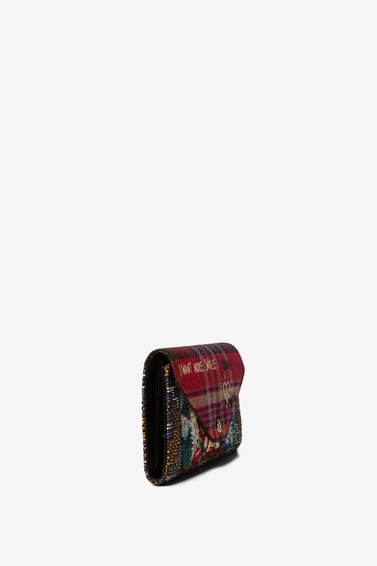 Smile tartan purse | Desigual