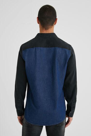 Camisa híbrida vaquera 100% algodón | Desigual