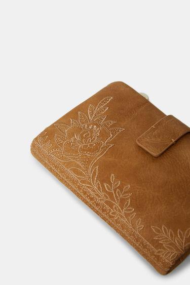 Kleines Portemonnaie Blumen | Desigual