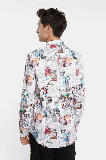 Camisa slim arty 100% algodón | Desigual