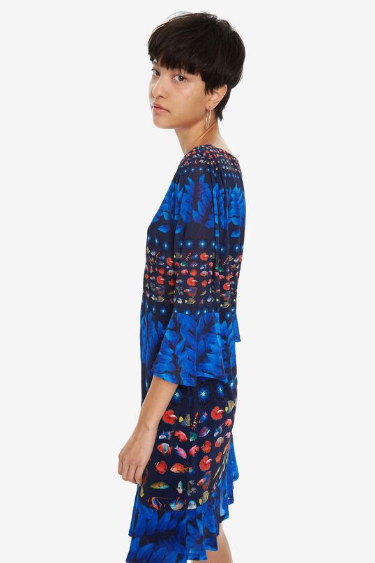 Bell-Sleeve Dress Calesi | Desigual