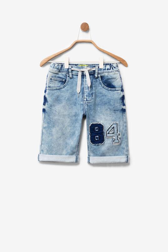 Long Denim Shorts Indigo | Desigual