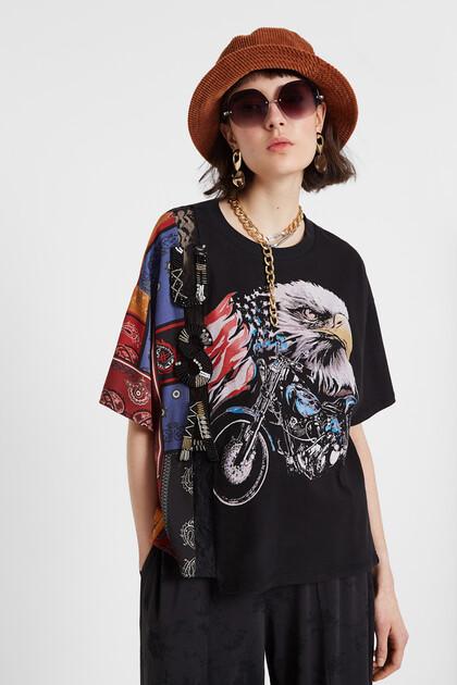 Hybride T-shirt USA