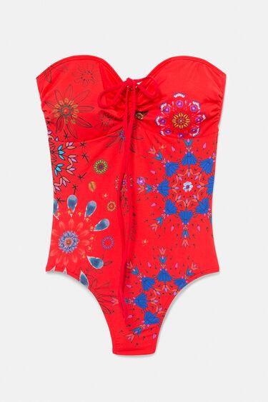 Badeanzug mit blumigem Mandala-Muster | Desigual