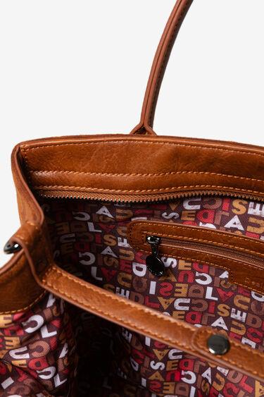 Shopping bag bandoulière Logomania | Desigual
