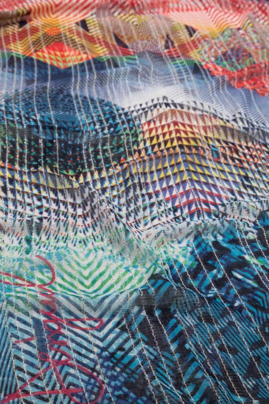 Rechteckiges Halstuch mit Print Ziggy | Desigual