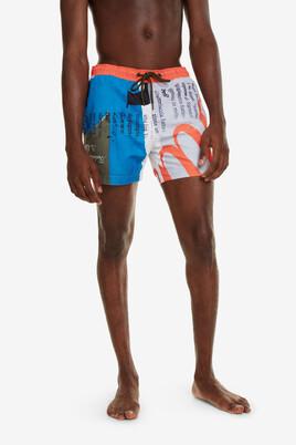 Font boxer swim shorts David
