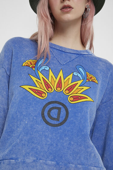 Vintage sweatshirt | Desigual