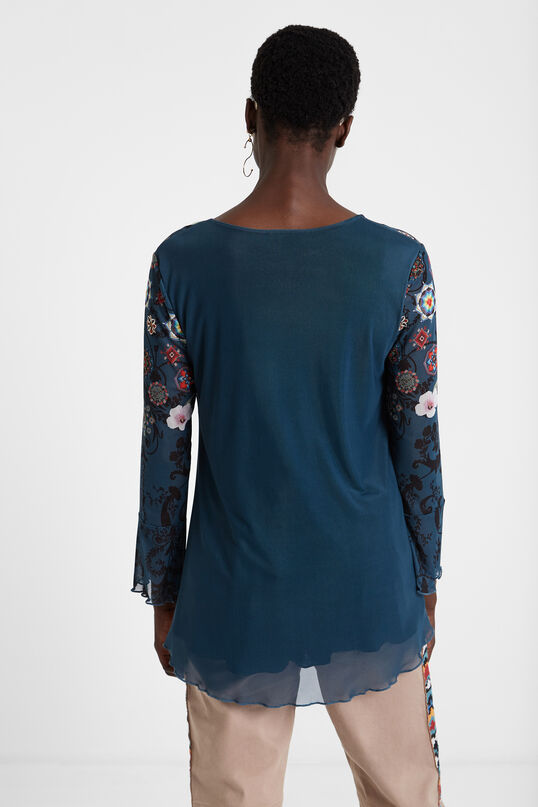 Camiseta azul Bruce | Desigual