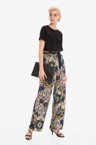 Pantalon large Debora