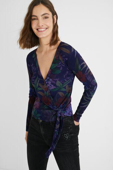 Fine knit jumper bow | Desigual