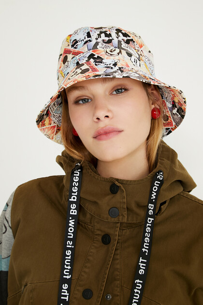 Mickey Mouse rain hat