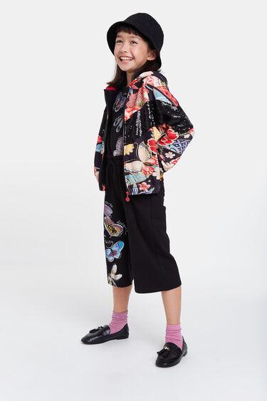 Short hooded jacket | Desigual