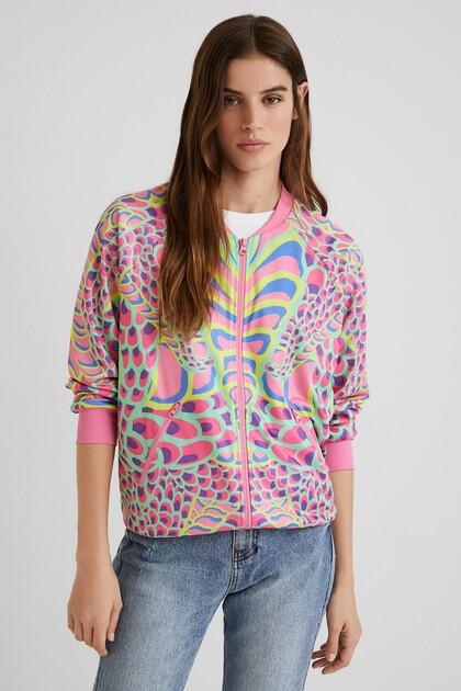 Sweatshirt jacket snake