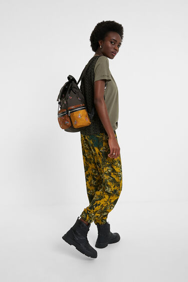 Medium paisley backpack | Desigual