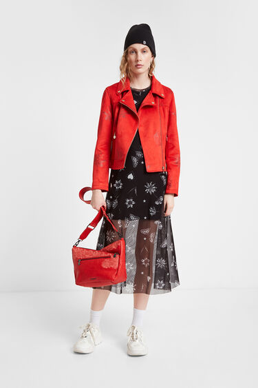 Small sling bag floral print | Desigual