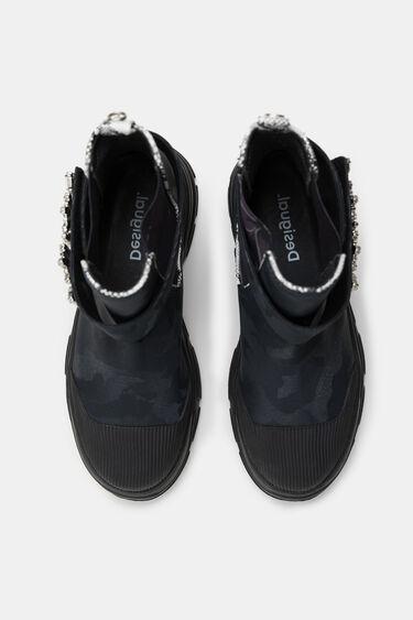Combat boots jewels | Desigual