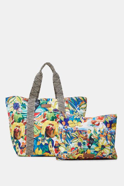 Beach bag reversible