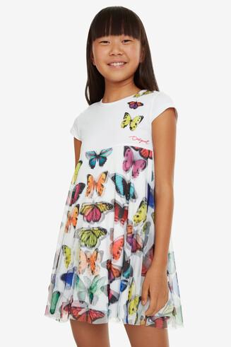 Butterflies on Tulle Dress Yamena