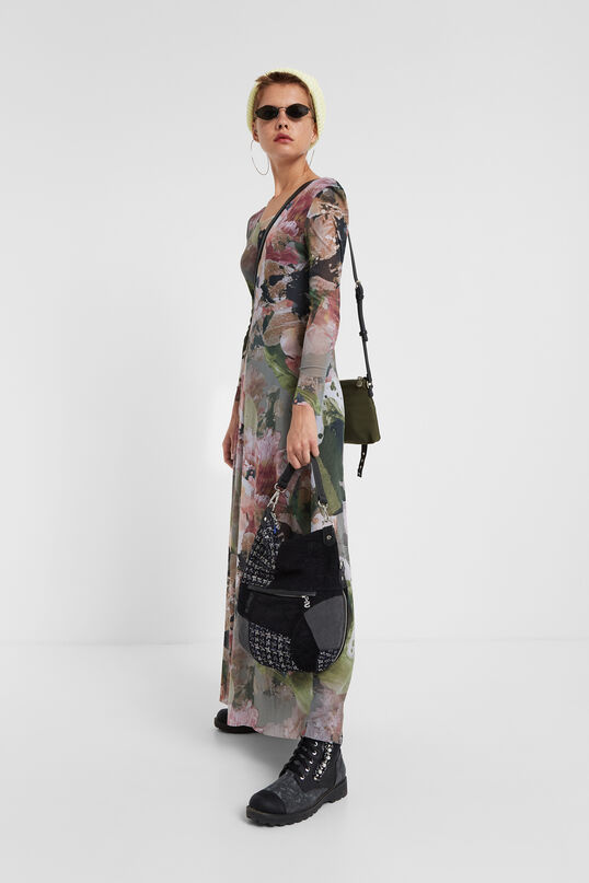 Long floral dress | Desigual