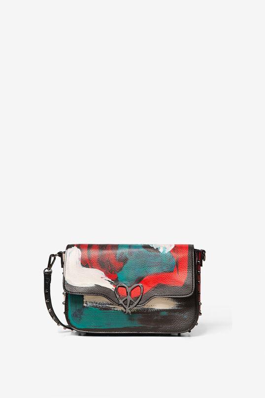 スタッズ付きアーティーなバッグ | Desigual