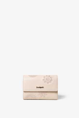 White Rectangular Purse Alba